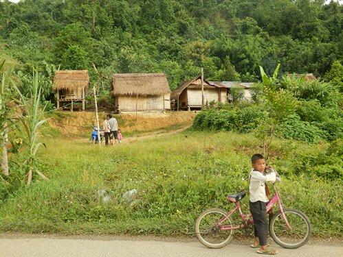 Widoki w Laosie